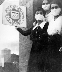 Alberta during Spanish Flu